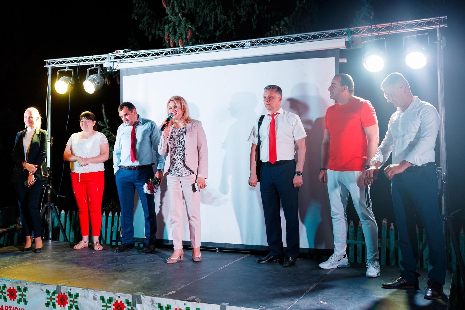 Партия «Шор» зажгла свет еще в одной коммуне Оргеевского района — коммуне Морозень