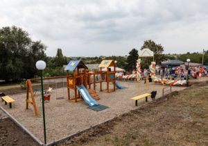 Партия «Шор» открыла детские площадки еще вдвух селах