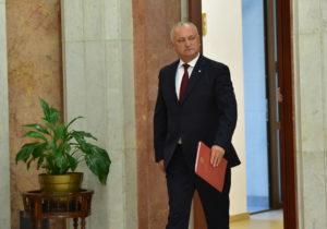 ЦИК получил документы для регистрации Додона кандидатом навыборах президента