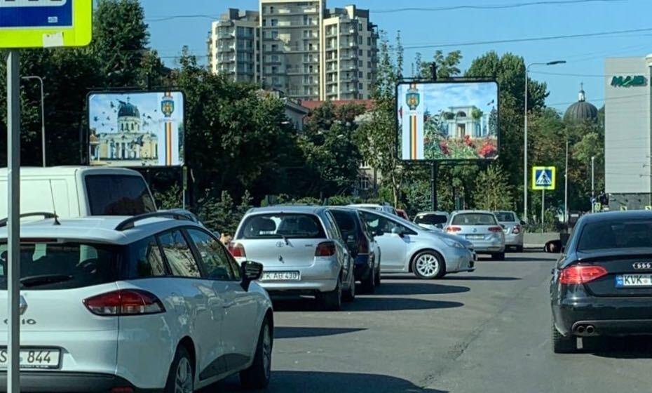 Идет война наружная. Как в Кишиневе появились новые рекламные щиты, и при чем тут политика