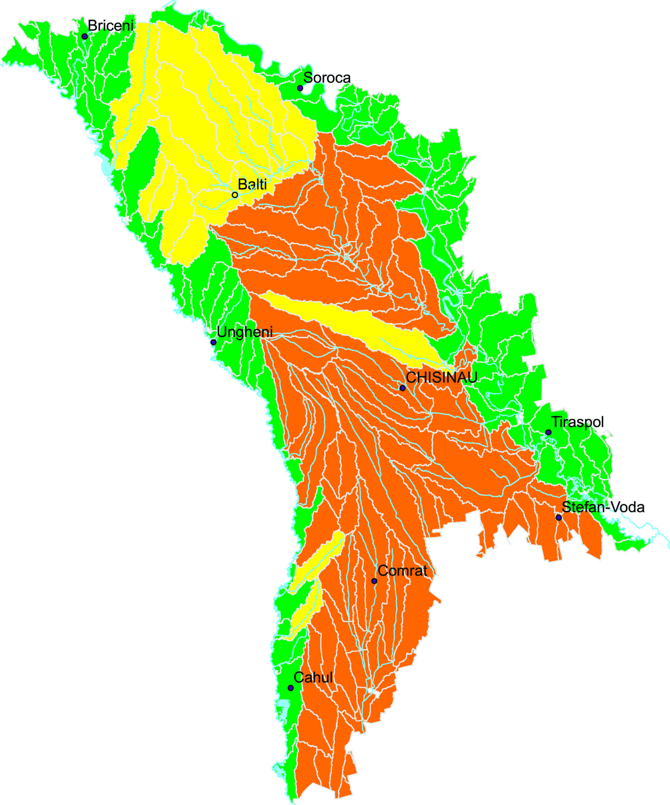 Meteorologii anunță cod portocaliu de secetă hidrologică. Cetățenii sunt îndemnați să consume rațional resursele de apă