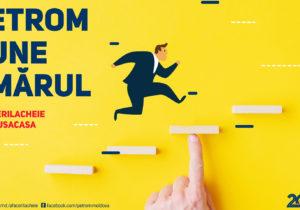 PETROM PUNE UMĂRUL: Afaceri la Cheie de la Petrom Moldova