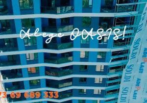Oasis Apartments: завершение фасадных работ — напоследней стометровке