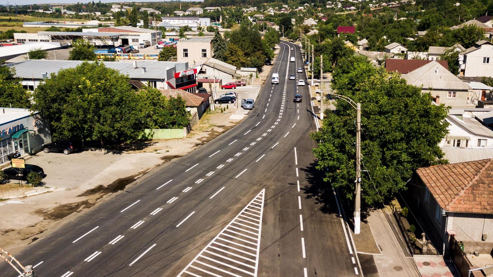 De Ziua Independenței, la Orhei a fost încheiată reconstrucția tuturor arterelor centrale
