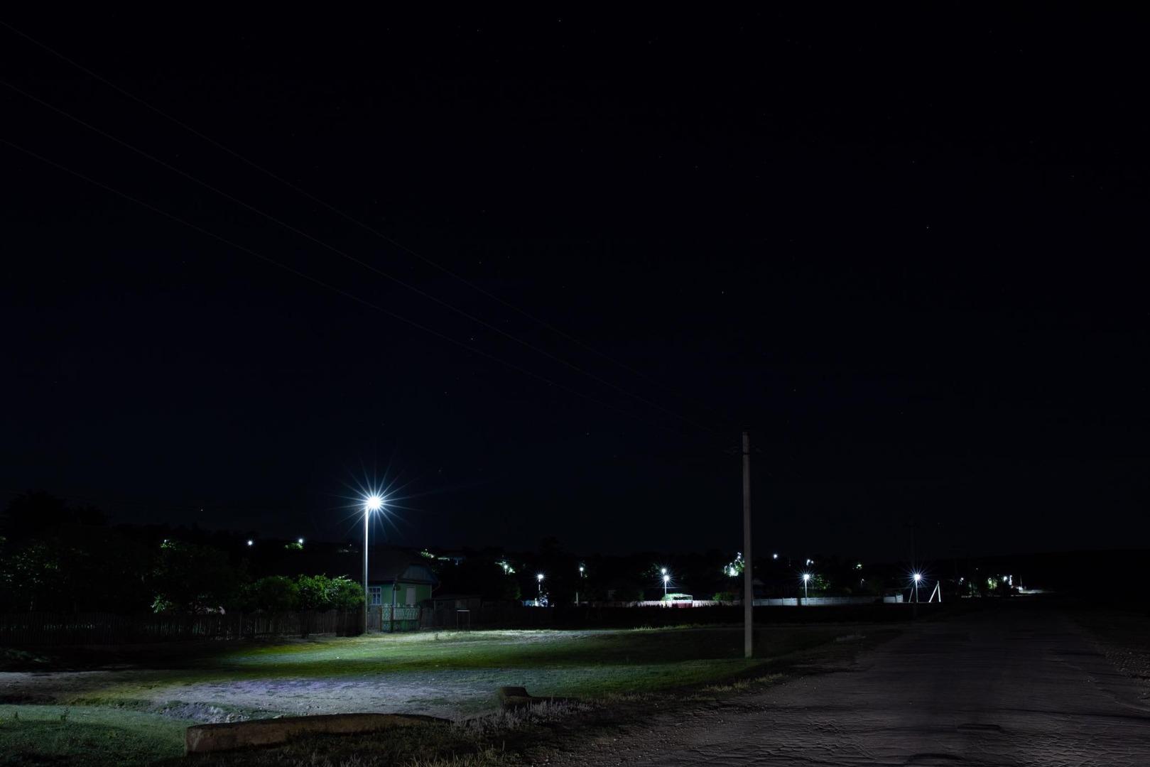 Партия  «Шор»  зажгла свет на улицах еще одного села Фалештского района