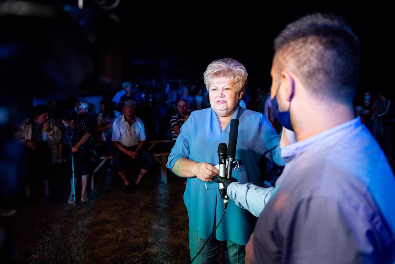 Încă într-un sat din raionul Fălești, Partidul «ȘOR» a aprins lumina stradală