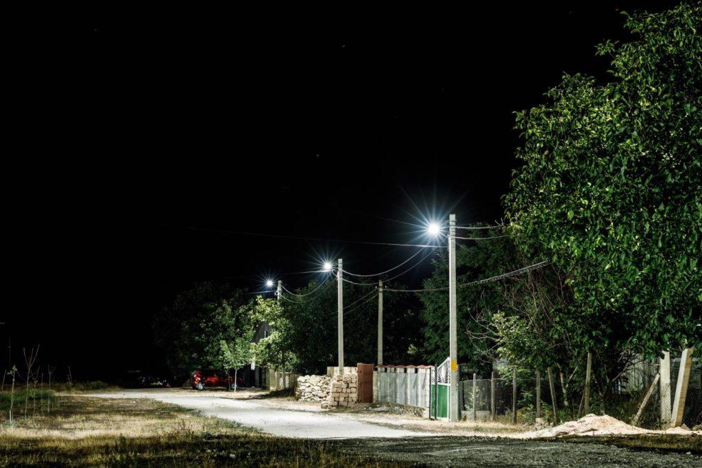 Партия «Шор» завершила проект уличного освещения вселе Желобок впамять опримаре