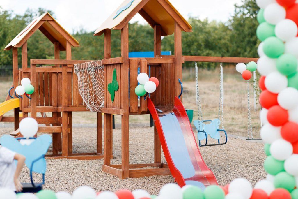Încă îndouă sate aufost inaugurate terenuri dejoacă pentru copii încadrul unui proiect alPartidului «ȘOR»