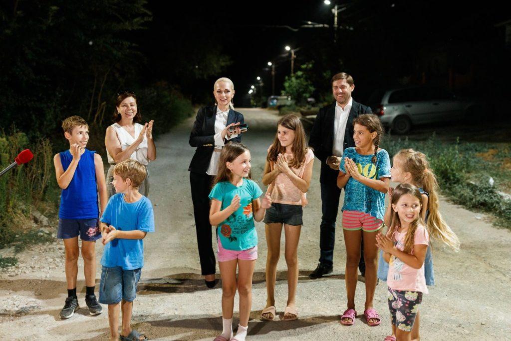 Partidul «ȘOR» finalizează cel mai mare proiect deiluminat public stradal din țară