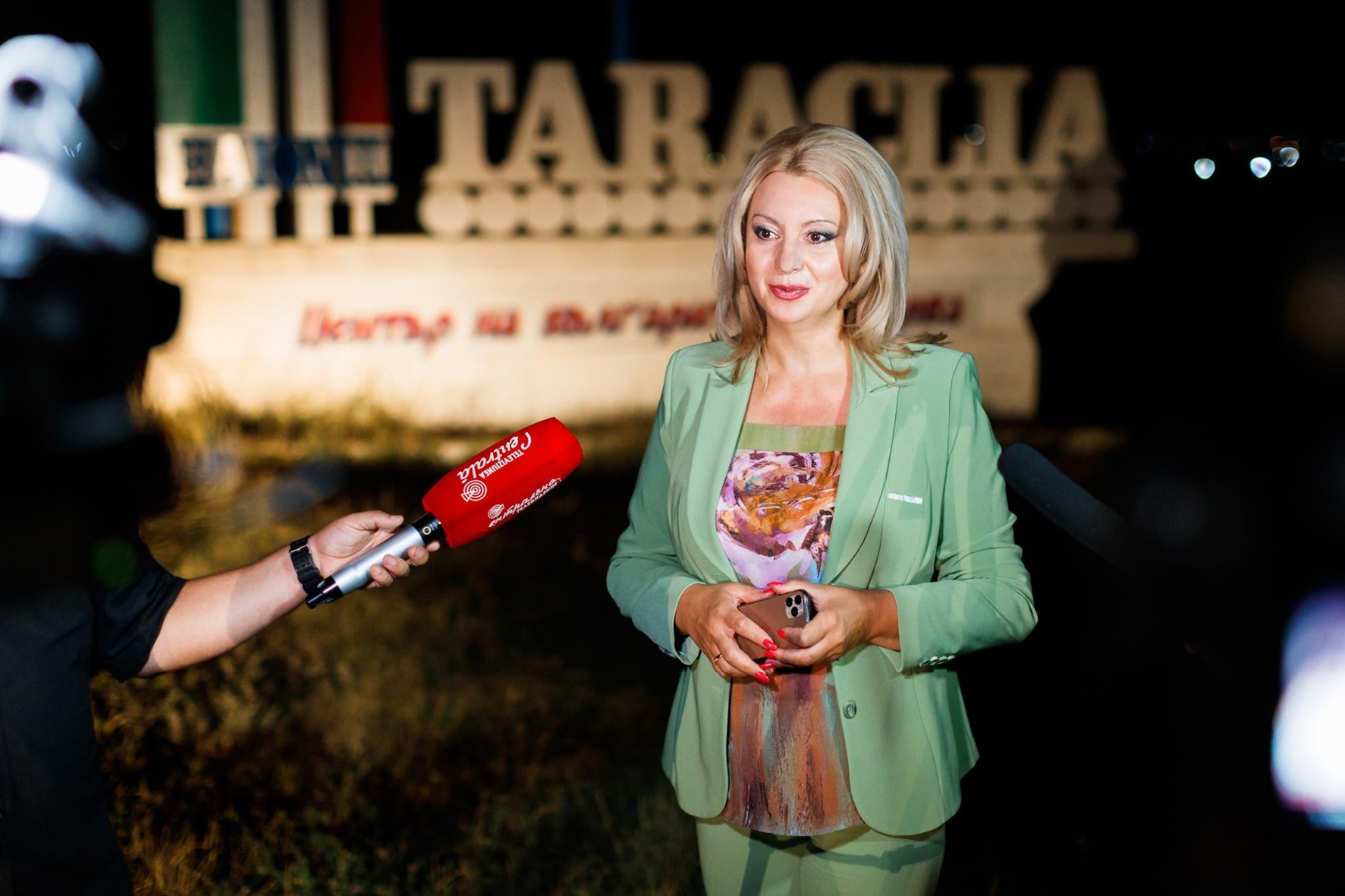 Команда партии «Шор» сдала тотальное уличное освещение в Тараклии