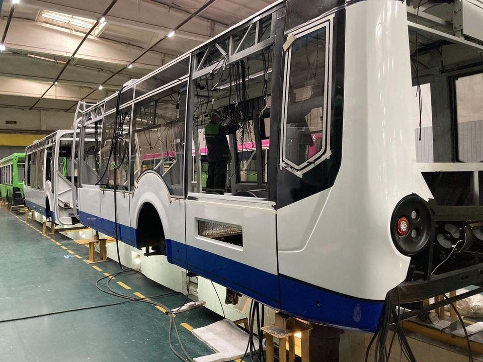 ВКишинев всентябре прибудут пять новых троллейбусов-«гармошек» (ФОТО)