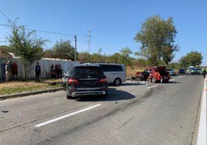 ВКишиневе столкнулись четыре автомобиля. Один человек погиб