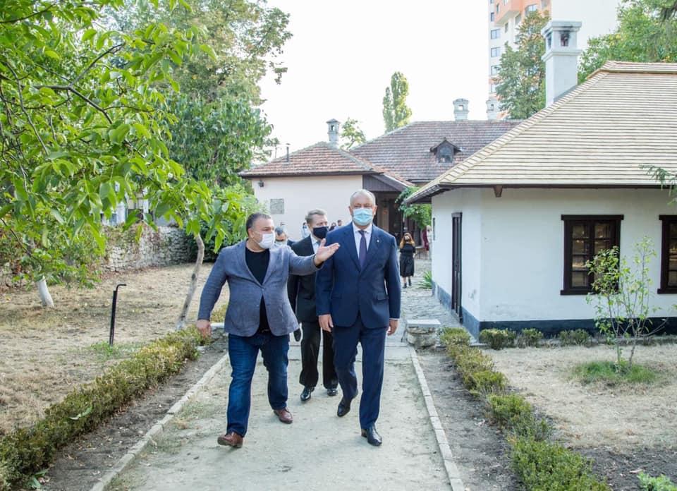 Додон рассказал оходе ремонта дома-музея А.С. Пушкина наденьги Чайки (ФОТО)