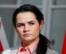 Тихановская объявила себя единственным лидером белорусского народа