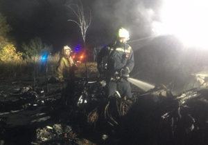 В катастрофе Ан-26 под Харьковом погибли 25 человек. Двое выживших успели выпрыгнуть из самолета