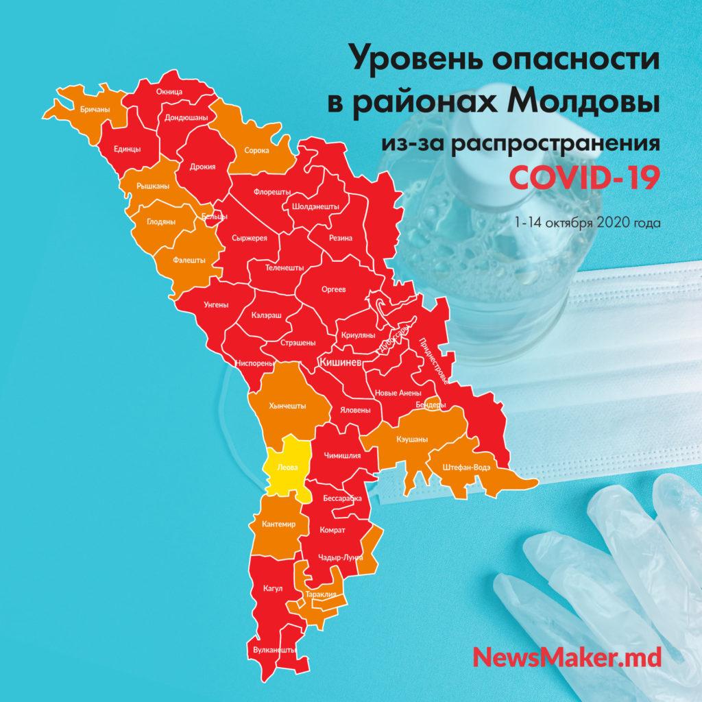 В «красных зонах» Молдовы снова введут самоизоляцию и закроют школы? Что (не) решили местные власти