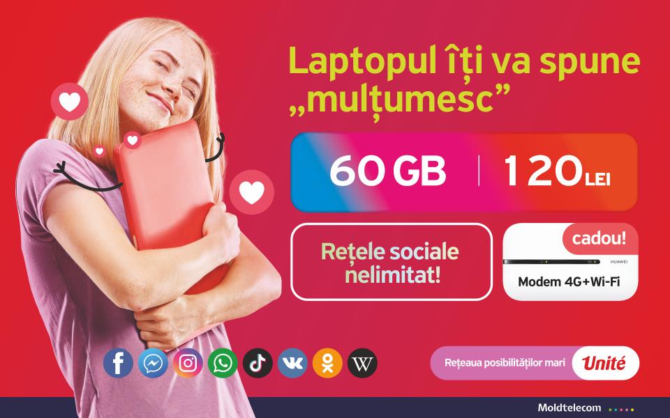 Treci la Unité! La doar 45 de lei — ai 10 GB lunar și nelimitat pe rețelele sociale!