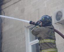 Пожар нарынке вКомрате. Пострадавших нет