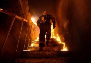 ВКаушанах загорелся дом. Пожарные спасли изогня двоих детей