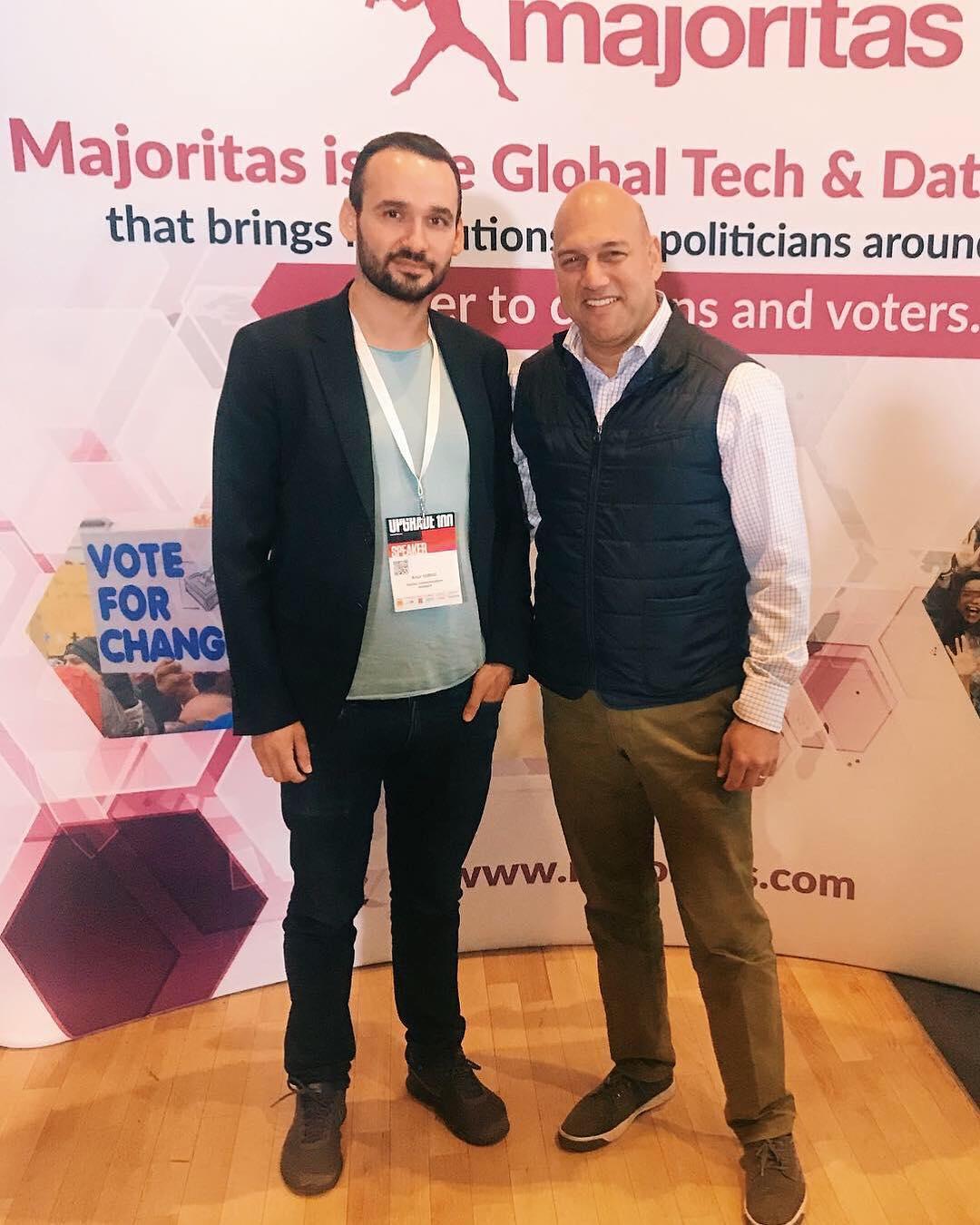 Артур Гурэу (слева) и Салим Исмаил