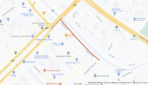 В Кишиневе часть улицы Албишоара перекроют на два дня