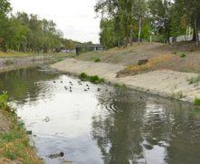 Primăria Chișinău: Lucrările de curățare a albiei râului Bâc au fost finalizate