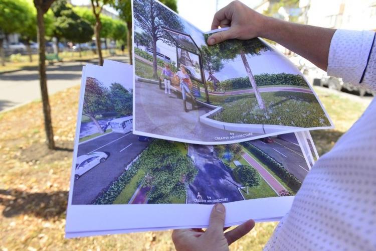 В Кишиневе отремонтируют аллею на проспекте Виеру. Здесь появятся полосы для велосипедистов (ФОТО)