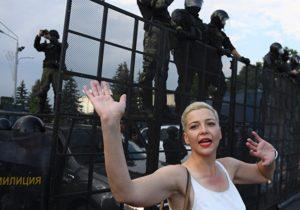 Протесты вБеларуси: Марии Колесниковой продлили арест