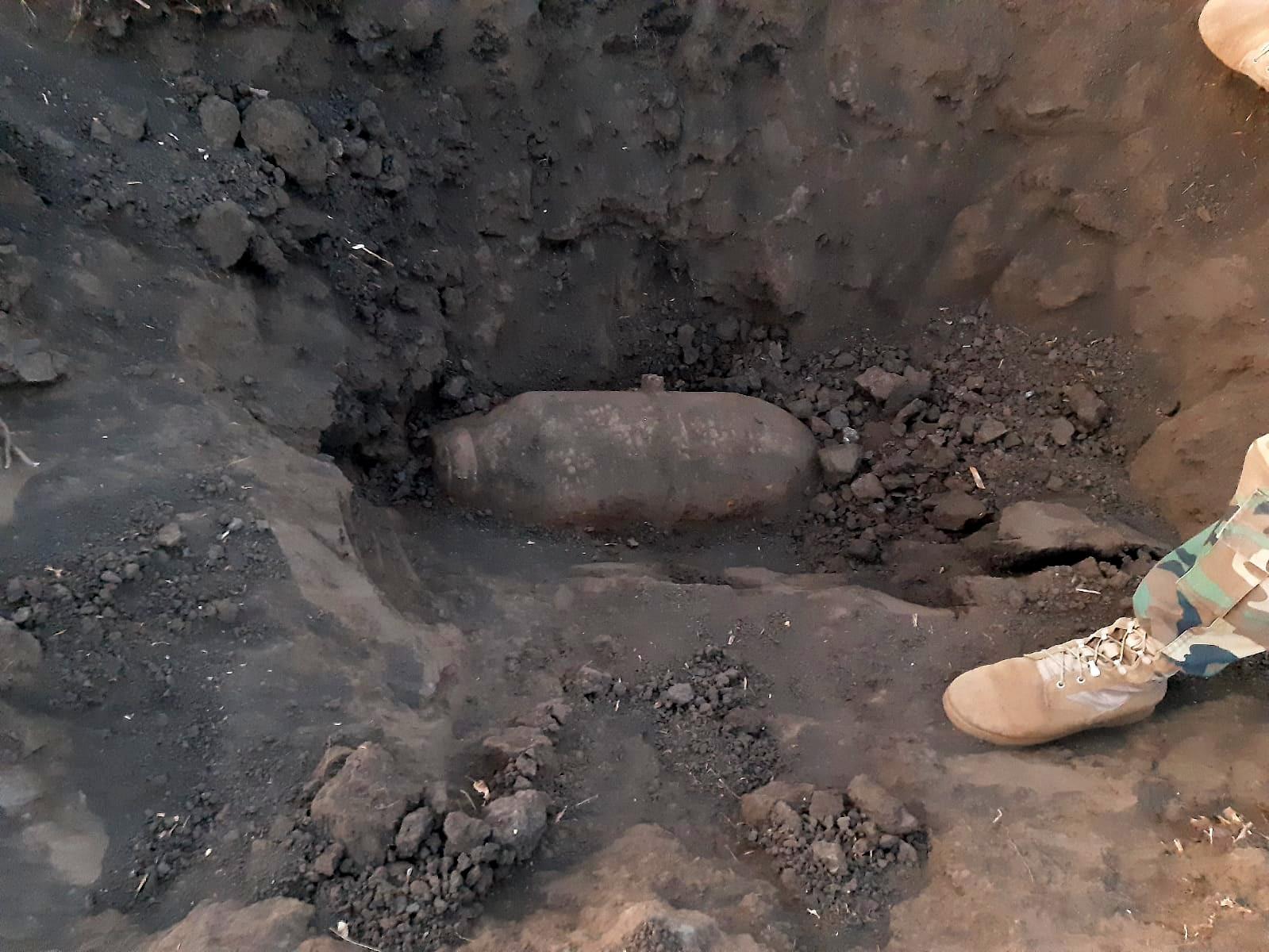 ВНовых Аненах сотрудники СИБ обнаружили боевые снаряды (ФОТО)