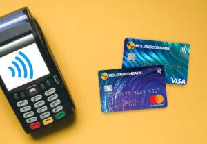 Moldindconbank продолжает лидировать на рынке банковских карт в Молдове