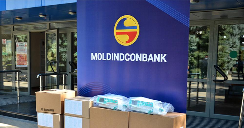 Moldindconbank continuă să susțină Spitalul Clinic Republican pentru tratamentul bolnavilor deCOVID-19 înstare gravă