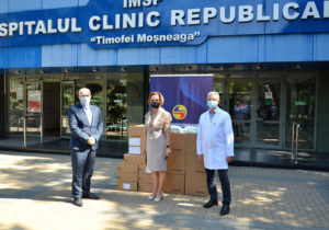 Moldindconbank продолжает поддерживать Республиканскую клиническую больницу влечении пациентов сCOVID-19 втяжелом состоянии