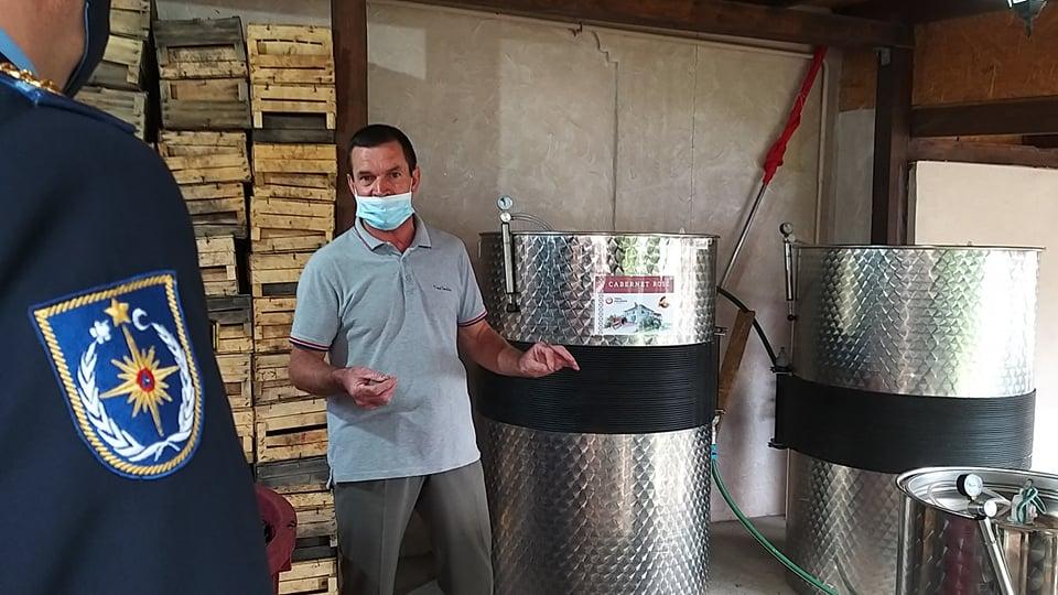 intoxicații dioxid de carbon, fermentare vin