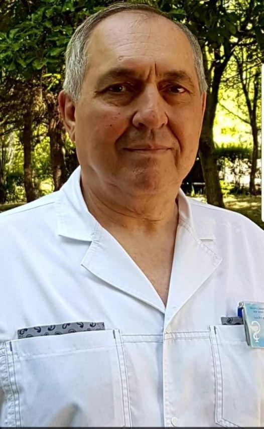ВМолдове отосложнений коронавируса умер врач Психиатрической больницы Бельц