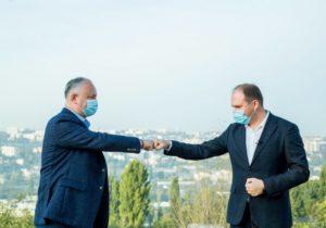 Мэр Кишинева Чебан взял отпуск, чтобы участвовать в предвыборной кампании Додона