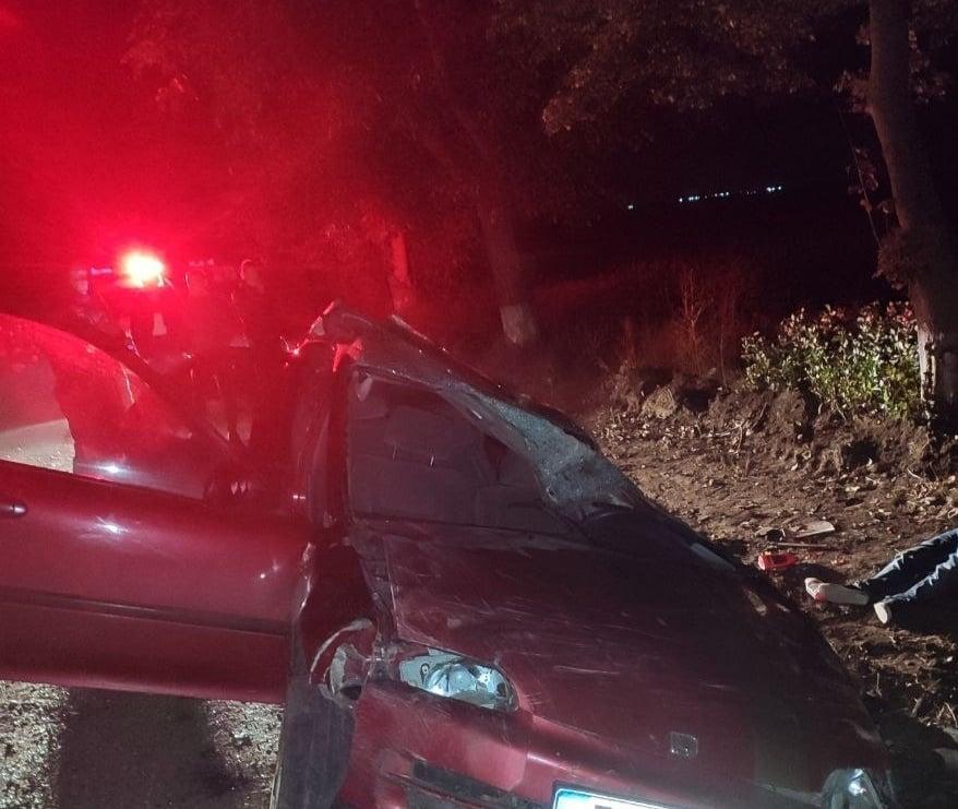 Un polițist beat a provocat un accident în raionul Criuleni, soldat cu decesul unui tânăr (FOTO)