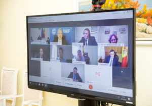 «Мыподготовили меры для поддержки деловой среды». Кику провел онлайн-конференцию спредставителями МВФ