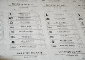 В Молдове начали печатать бюллетени к президентским выборам (ФОТО)