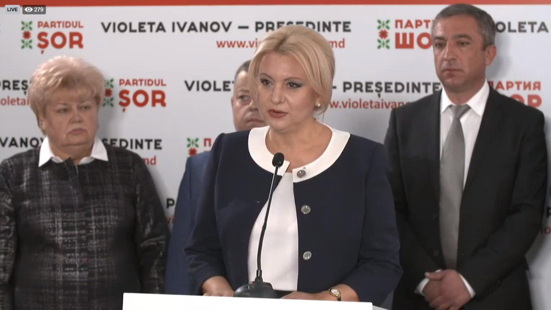 """""""A venit timpul transformărilor pe care le merităm"""". Violeta Ivanov s-a lansat în campania electorală"""