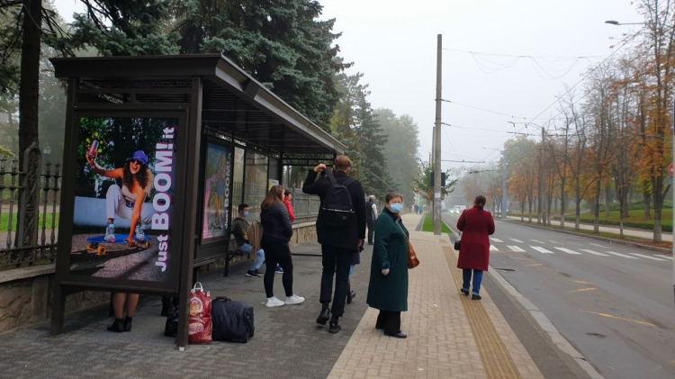 În capitală au apărut stații noi de așteptare a transportului public. Cum arată acestea? (FOTO)