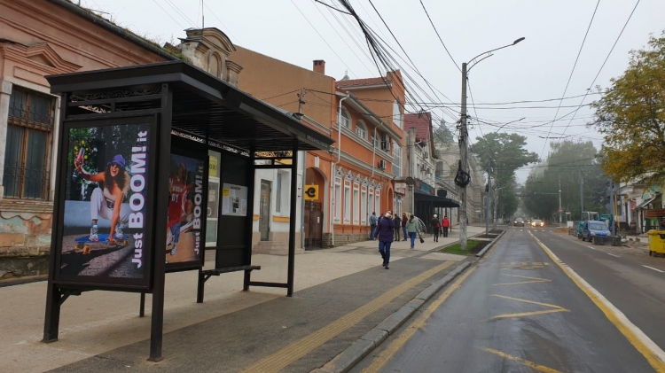 В Кишиневе обновили 28 остановок общественного транспорта (ФОТО)
