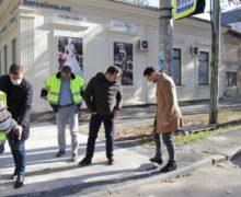 Отремонтированные в центре Кишинев тротуары частично переделают