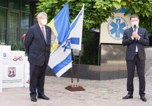 Государство Израиль и Республика Молдова вместе противостоят COVID — 19