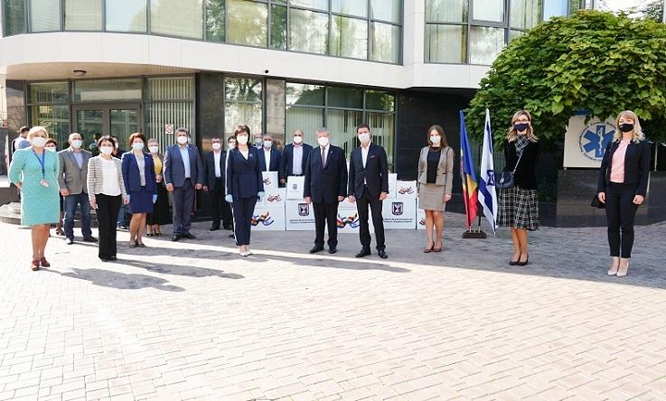 Государство Израиль и Республика Молдова вместе противостоят COVID - 19