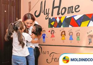 Moldindconbank: O familie din Comrat s-a mutat în propria locuință și plătește o rată mai mică la credit decât chiria