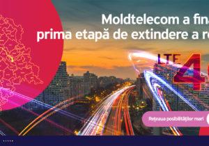 Moldtelecom a finalizat prima etapă de extindere a rețelei LTE 4G
