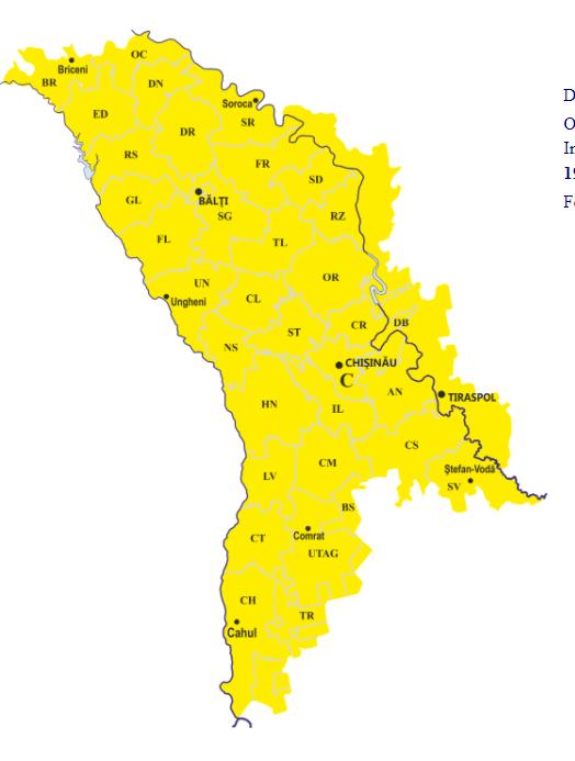 Cod galben de înghețuri pe întreg teritoriul Republicii Moldova. Până când este valabilă avertizarea