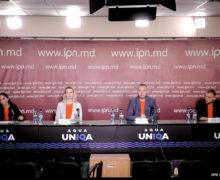 Красный флаг, лимба молдовеняскэ и русский второй государственный. Активисты ПСРМ создают партию «Наши»