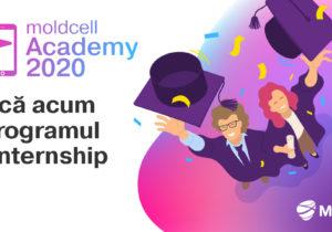 Povestea ta începe cu Academia Moldcell. Aplică acum!