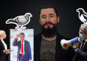 «Коалиция Кулька», Порумбел Додон и цирк с комбатантами. Политические итоги недели Евгения Шоларя (ВИДЕО)